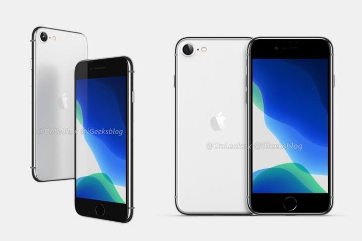iPhone se2 iPhone 9 render website