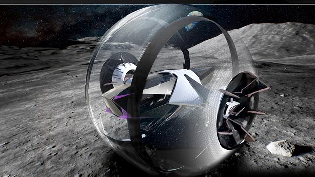 Lexus moon roller