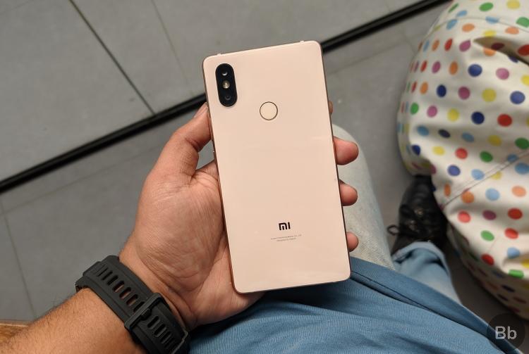 mi branding shown off on Mi 8 Lite