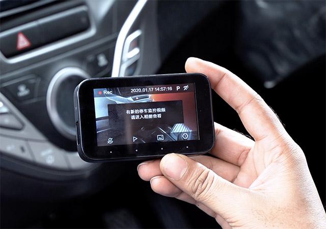 mi dashcam 1s chinese interface