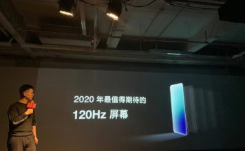 oneplus 120Hz display technology unveiled in China
