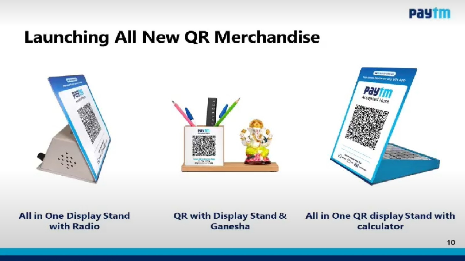 paytm QR merchandise – 1