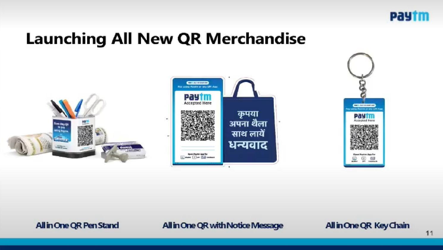 paytm QR merchandise – 2