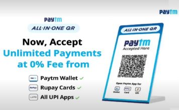 paytm all-in-one QR code launched