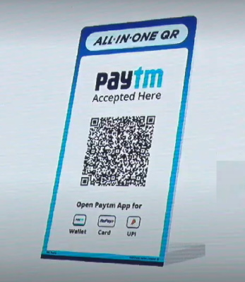 paytm all-in-one QR code - 1