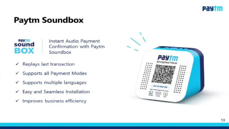 paytm soundbox