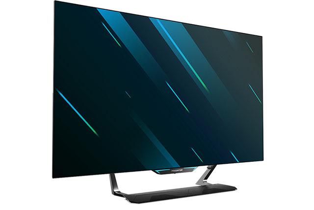 predator cg552k 4k oled gaming monitor ces 2020
