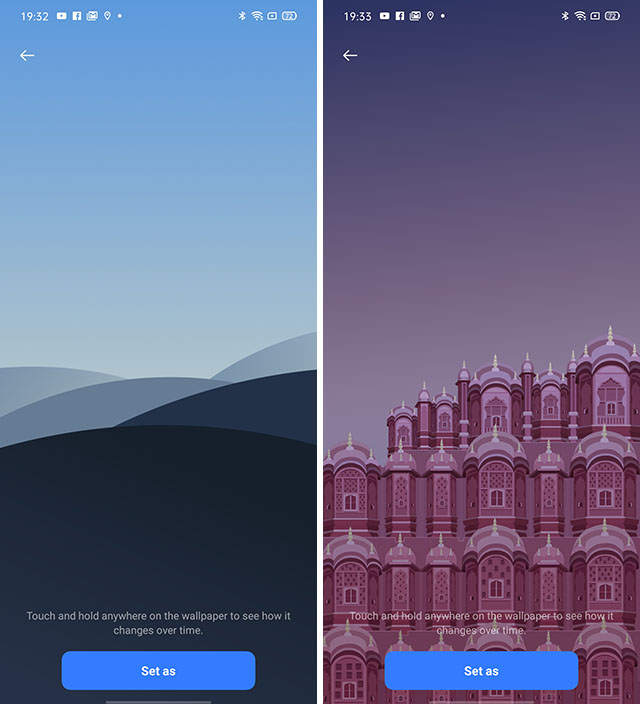 realme ui dynamic wallpapers