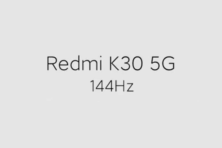 redmi k30 5g 144hz display test