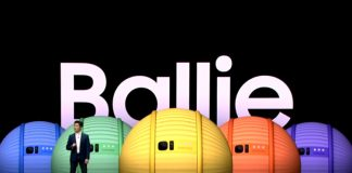 samsung ballie tiny companion robot