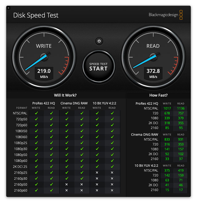 seagate onetouch ssd read write speeds