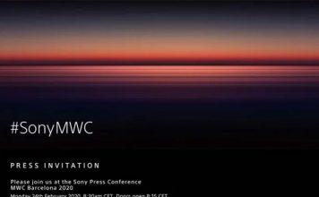 sony mwc 2020 invite