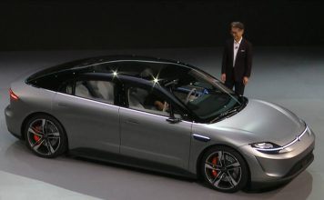 sony unveils vision s concept car ces 2020 featured