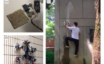 Researchers Develop Suction Unit to Create Spiderman-like Wall Climbing Robot