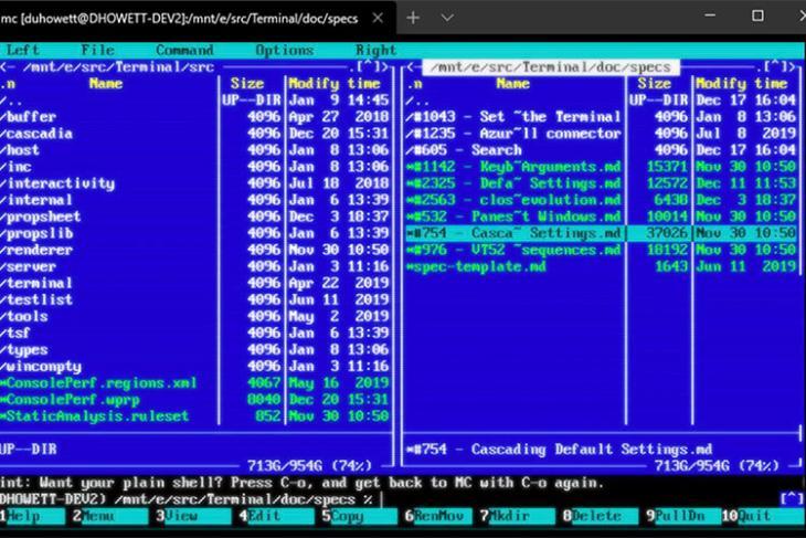 windows 10 terminal crt effects featured