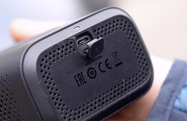 xiaomi air pump uses a microUSB to charge