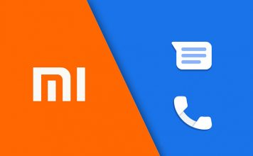 xiaomi google phone messages app preinstalled