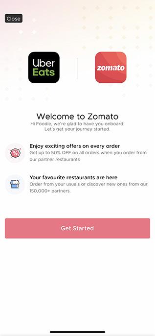 Zomato Acquires UberEats India for Almost ₹2,500 Crore