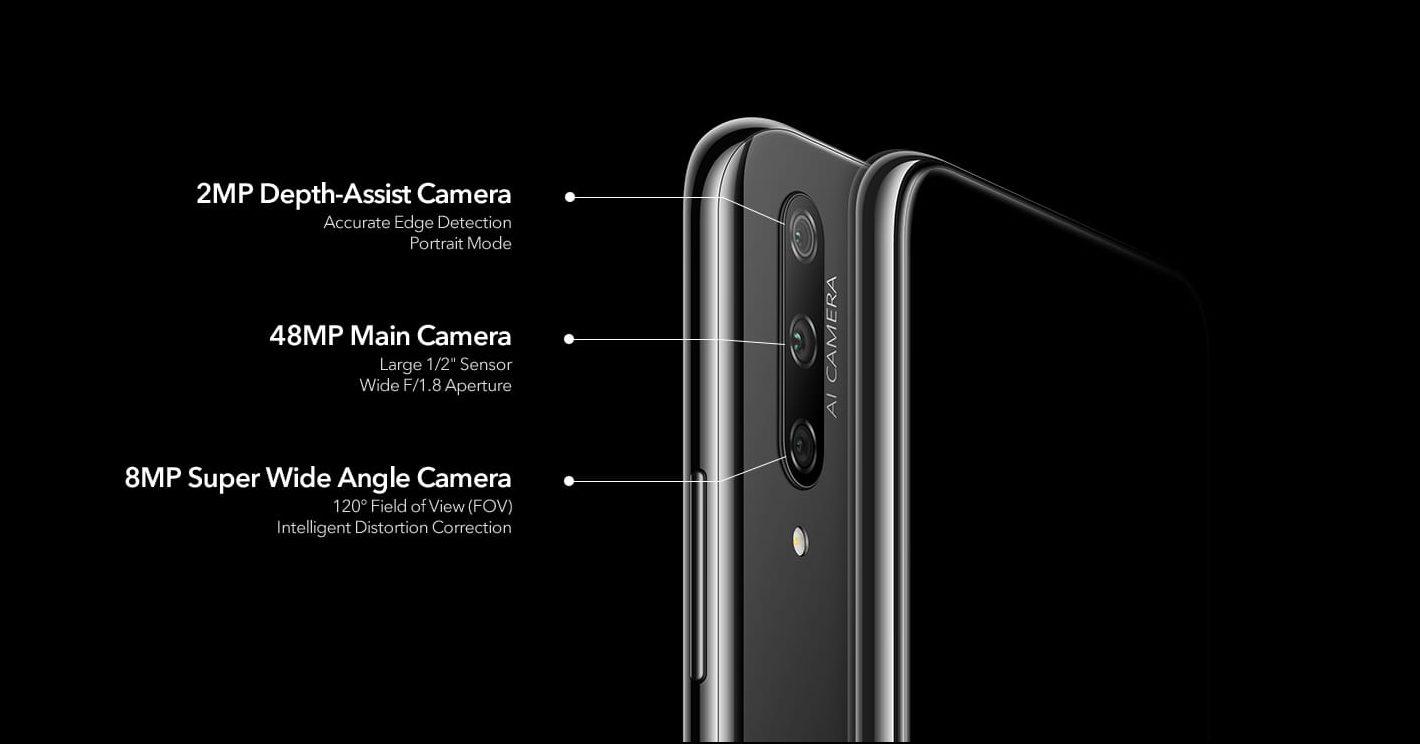 Honor 9X camera specs