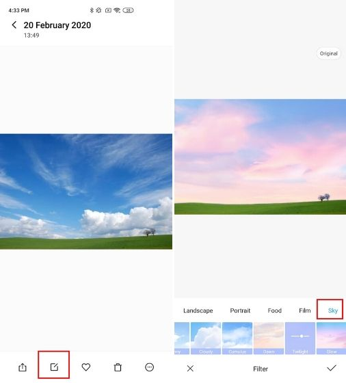 11. Try Sky Filters