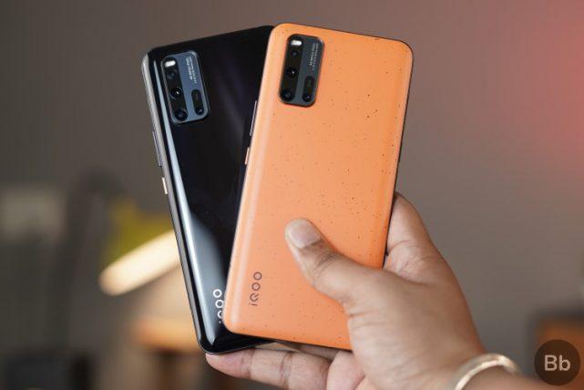 2. iQOO 3 Smartphones with NavIC Support