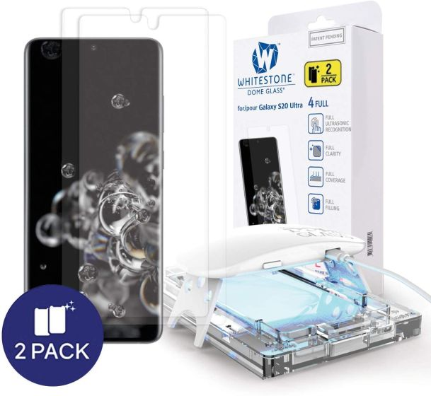7. Whitestone Dome Glass Best Galaxy S20 Ultra Screen Protectors