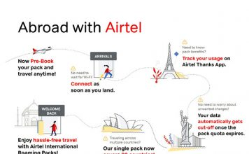 Airtel Launches New International Roaming Packs for Prepaid Users