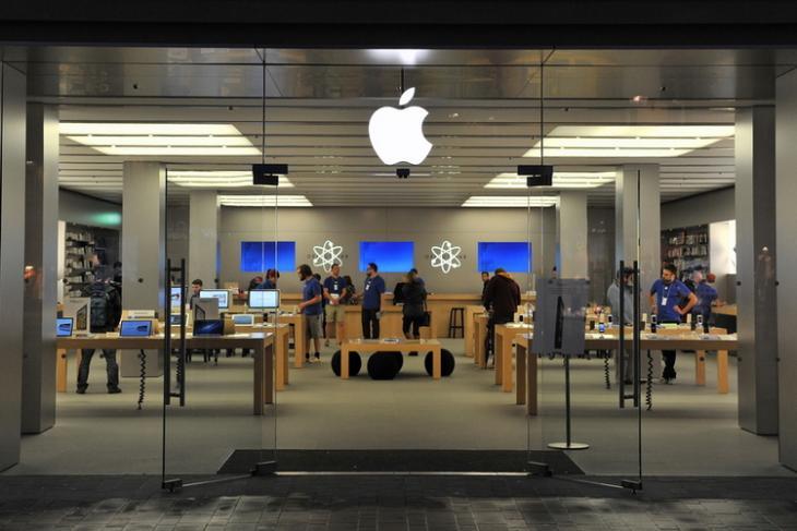 Apple Retail Store shutterstock website