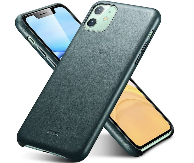ESR Leather Case for iPhone 11