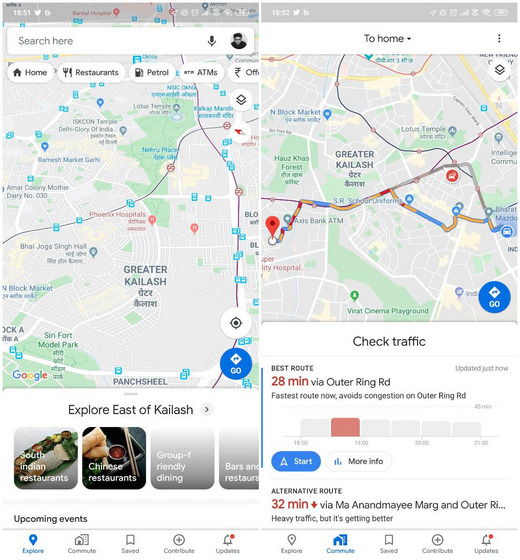 Google Maps Gets New Logo and Revamped UI on Android, iOS