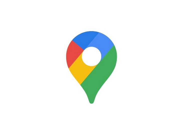 Google Maps new logo website