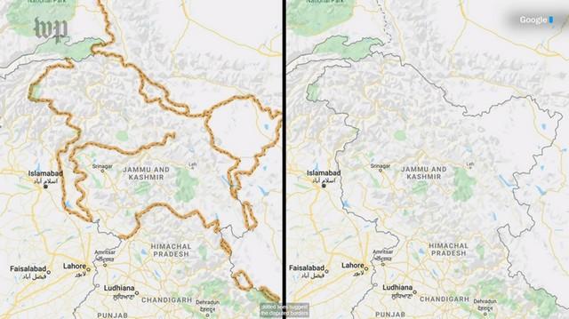Google maps border 1