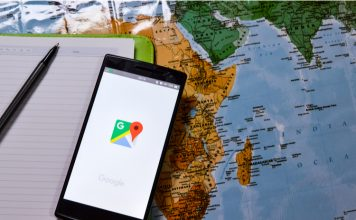 Google maps border feat.