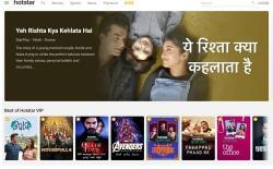 Hotstar Kids website