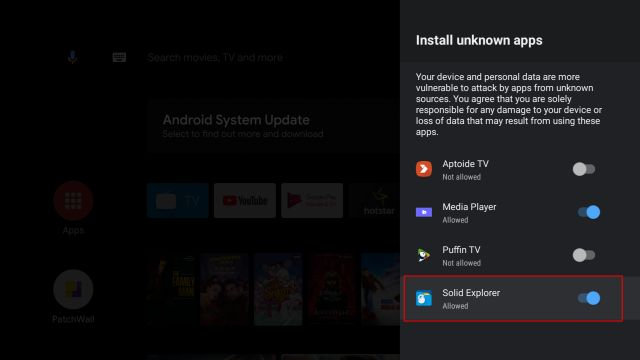 Sideload Apps on Android TV in 2020