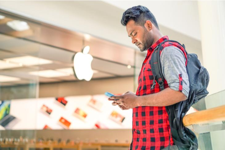 Indian using iPhone feat.