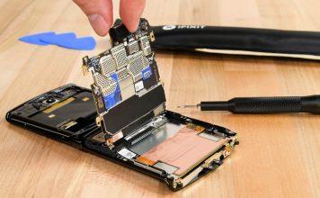 Motorola Razr Gets Low Repairability Score on iFixit's Teardown
