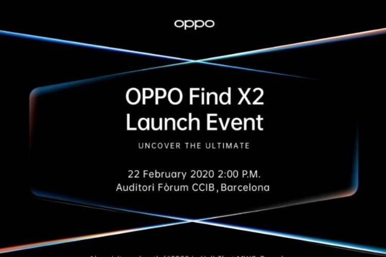 Oppo find X2 launch date MWC 2020