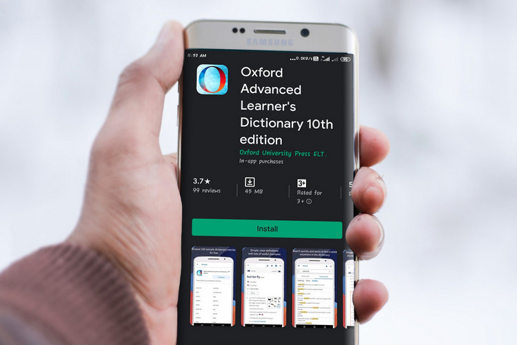 Oxford Advanced Learners Dictionary app live on Android and iOS