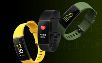 Realme Band specs and features