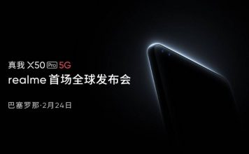 Realme X50 Pro 5G launch date
