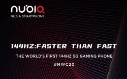 Red Magic 5G MWC 2020 announcement website