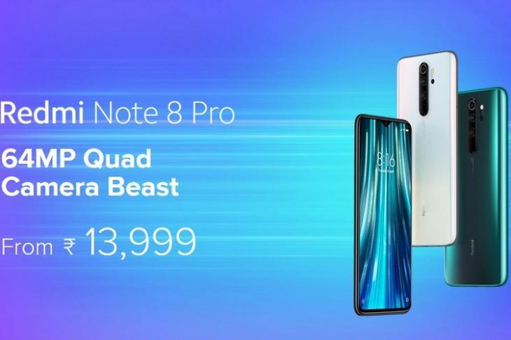 Redmi Note 8 Pro price cut website