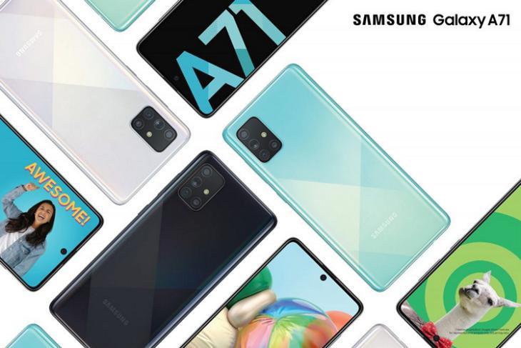 Samsung Galaxy A71 India launch