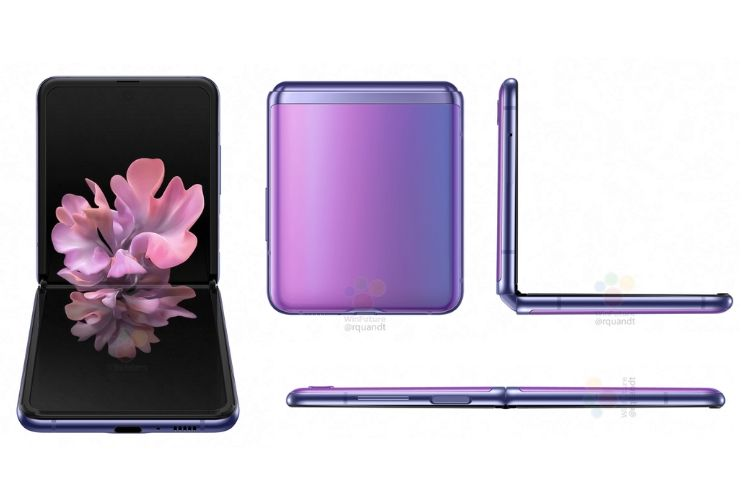 Samsung Galaxy Z Flip ports and design