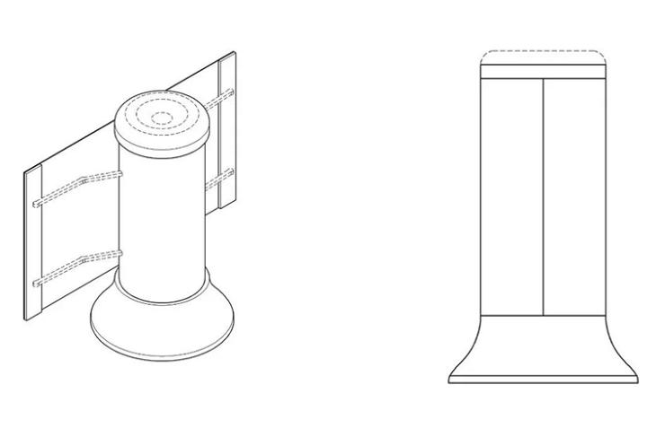 Samsung Patents Smart Speaker with Rollable Display