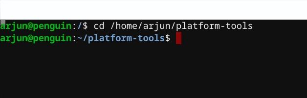 install adb on linux
