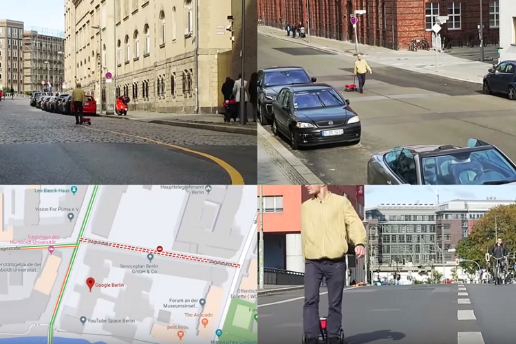 Performance Artist Uses 99 Smartphones to Create Fake Traffic on Google Maps