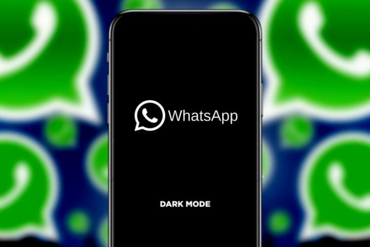 WhatsApp Dark Mode shutterstock website