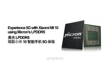 Xiaomi's Mi 10 Series Expected to Debut LPDDR5 DRAM